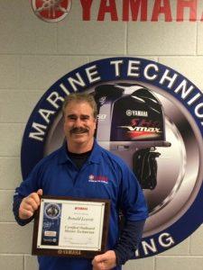 Service Technician Yamaha Award