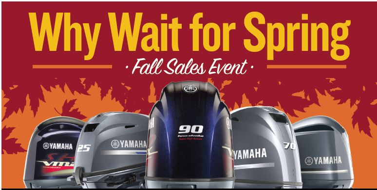 Monahan's Marine Fall Sales Event