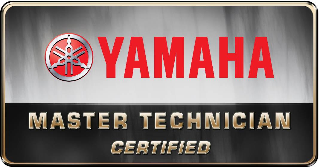 Yamaha Master Technician Logo